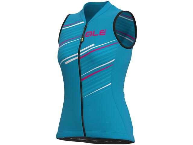 Alé Cycling Solid Flash SL Jersey Women, azul